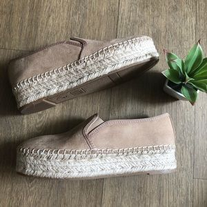 Slip On Espadrille Shoes